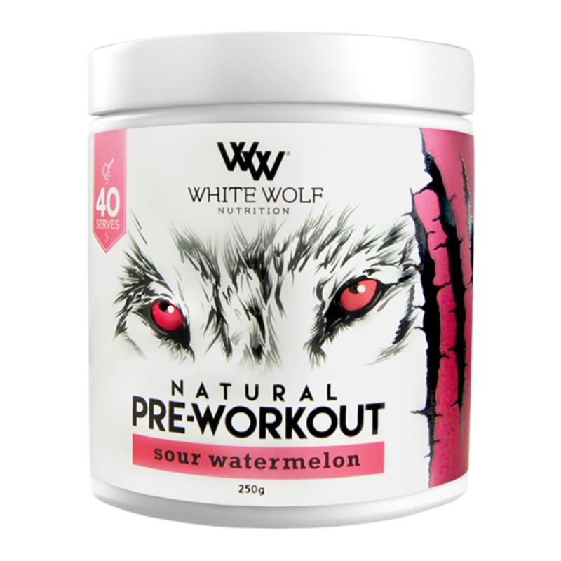 Natural Pre-Workout by White Wolf