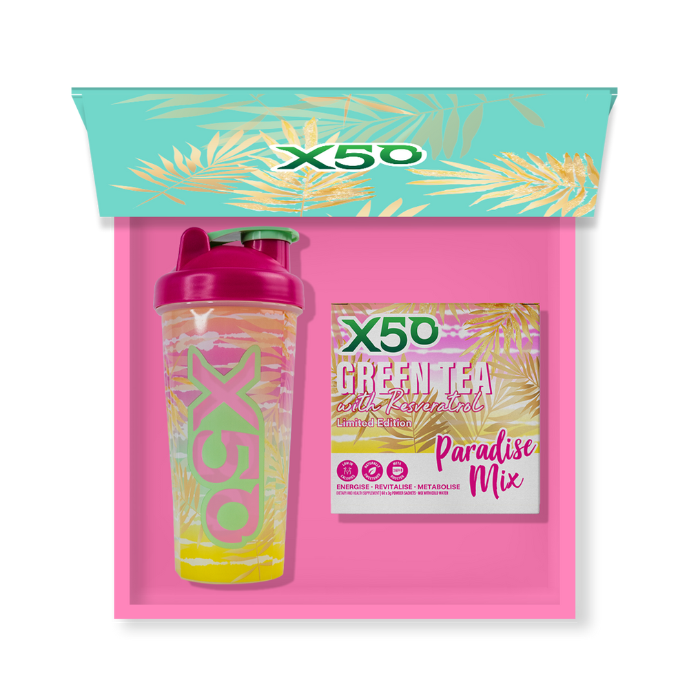 Green Tea + Resveratrol Gift Box Edition by X50