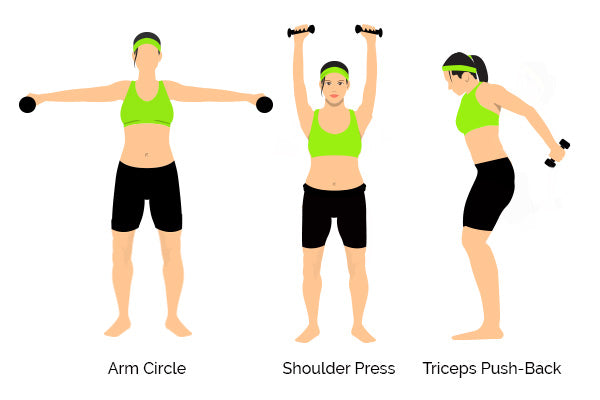 How to tone your arms – three exercises to try