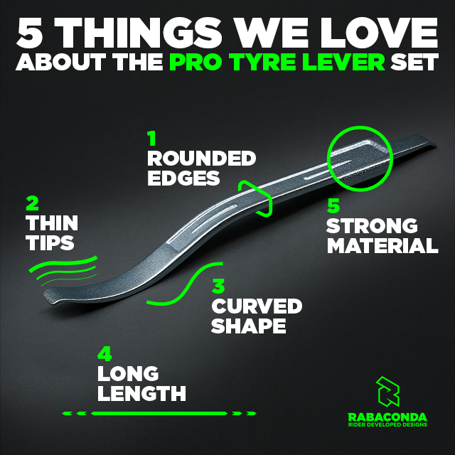 5 Things We Love About the PRO Tire Lever Set
