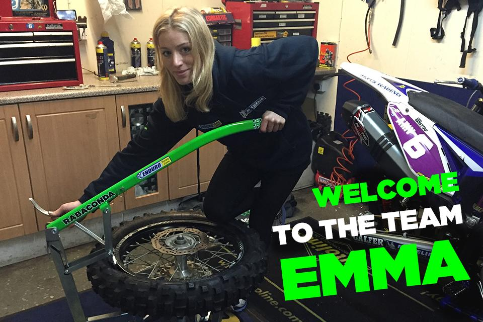 Welcome Emma Bristow!