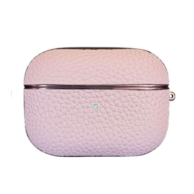 Pink Leather Airpods Case - Lethetea Accessories