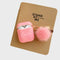 Custom Pink Airpods Case With Furry Key Rings - Lethetea Accessories