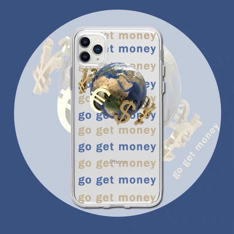 Go Get Money iPhone Case