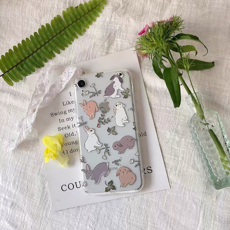 Cute Rabbit iPhone Case