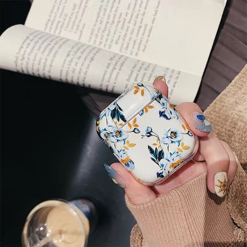 Flowers Airpods Case