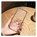 Black Jelly Glass Soft Edge iPhone Case