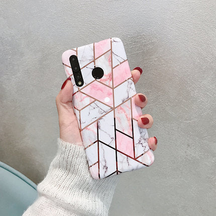 Pink Marble Pattern Samsung Case - Available to all Samsung Phones