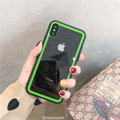 Green Edge Color iPhone Case