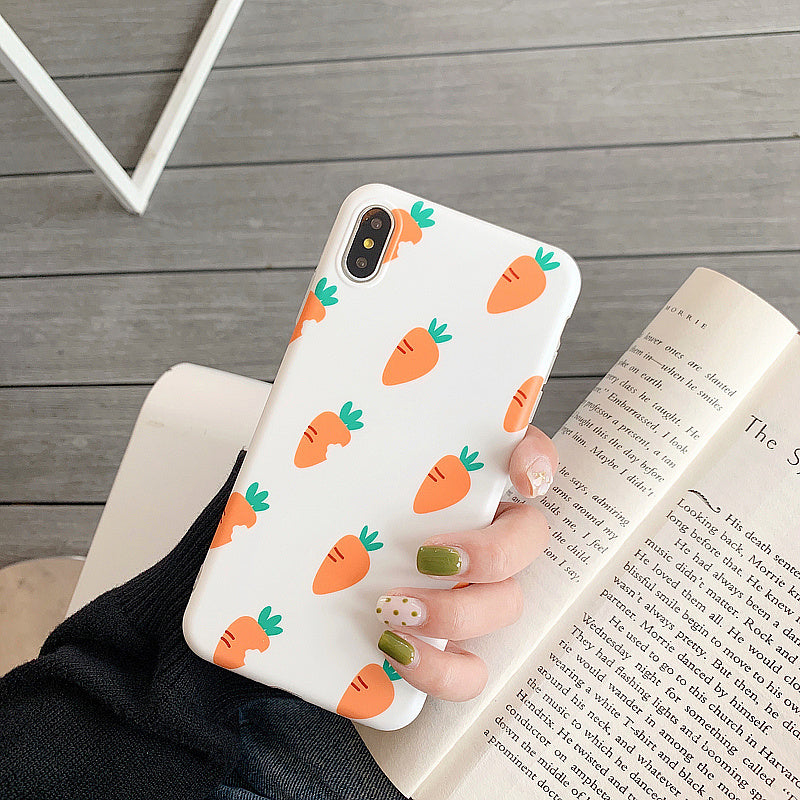 Cute Carrort iPhone Case