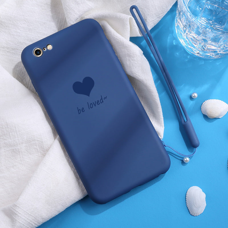 Be Loved Blue iPhone SE Case