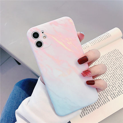 Mix Pink Marble iPhone Case