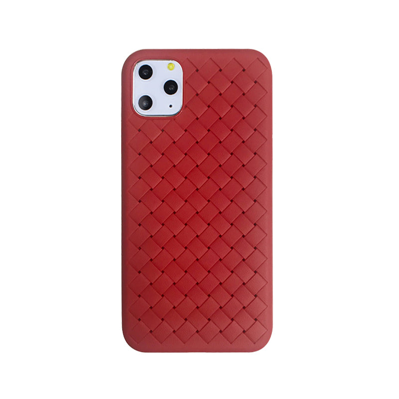 Red Pattern Monogram iPhone Case