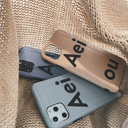 Aei Khaki iPhone Case