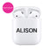 Custom Transparent Airpods Case With Name