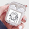 Custom Transparent Airpods Case With Image