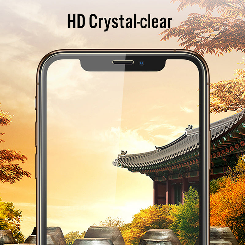 Mirror Screen Protector for 11Pro XS Max XR 7Plus iPhone8 6S 5S Display Anti Scratch Advanced HD Clarity