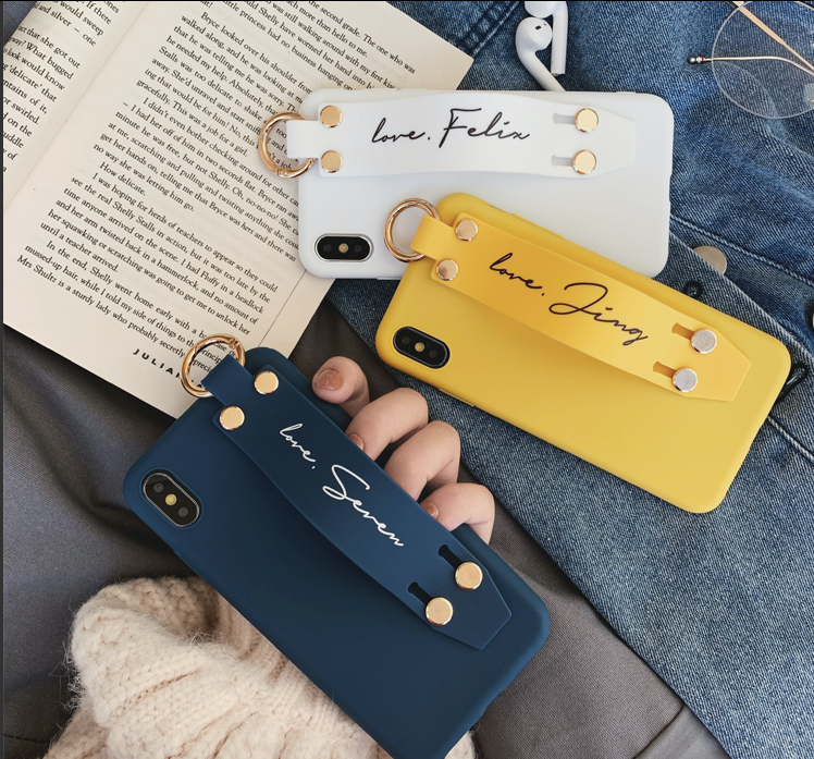 Custom Yellow Belt iPhone Case With Name