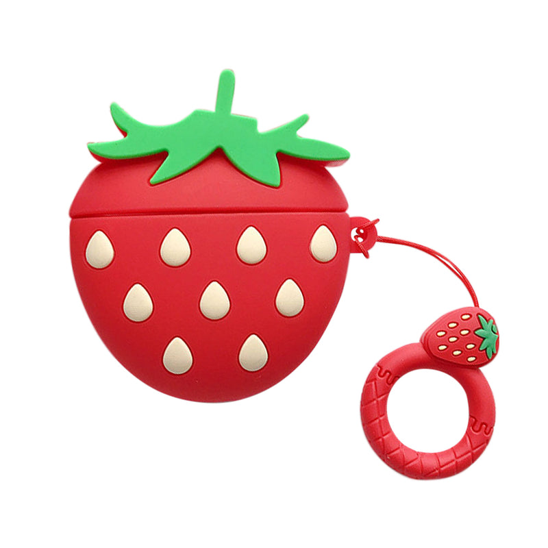 Strawberries Airpods Case - Lethetea Accessories