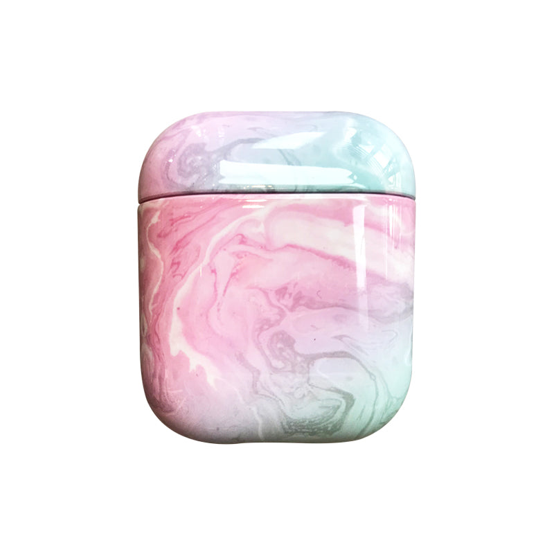 Pink Marble Airpods Case - Lethetea Accessories