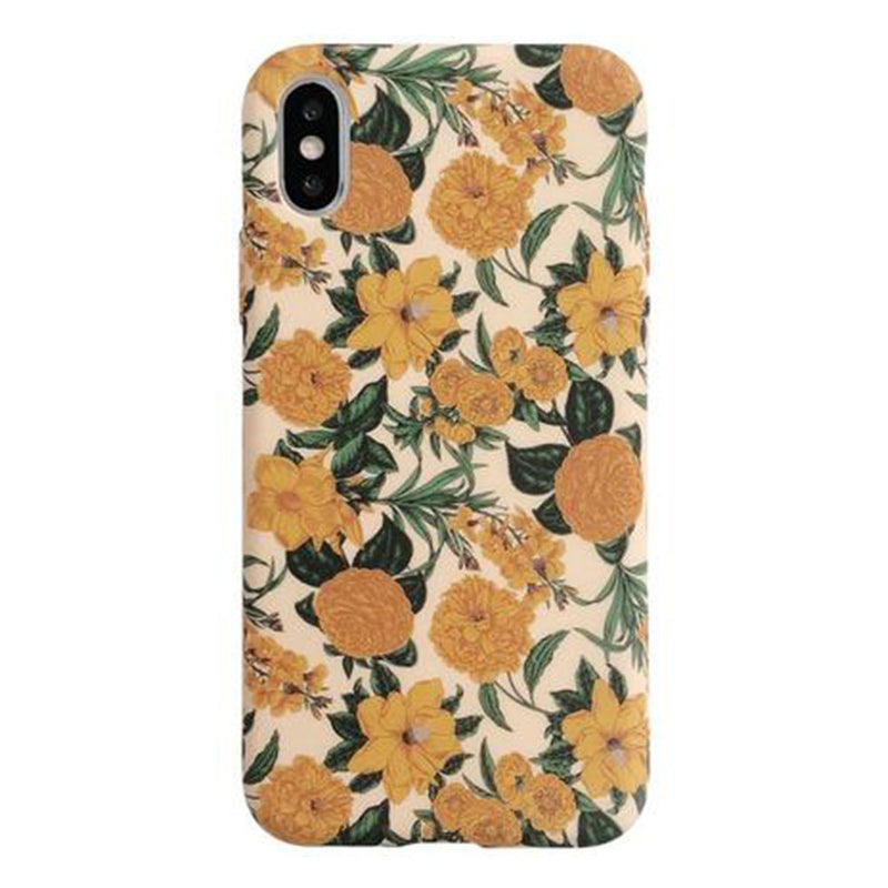 Yellow Flower iPhone Case - Lethetea Accessories