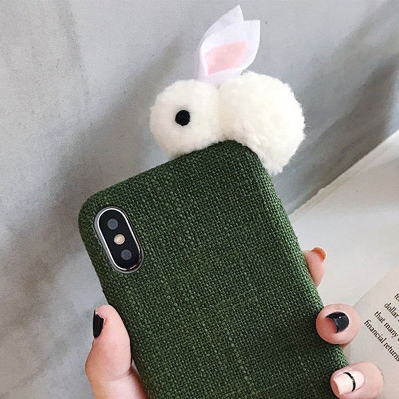 Green Rabbit iPhone Case - Lethetea Accessories