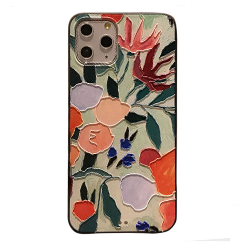 Embossed Bloom iPhone Case - Lethetea Accessories
