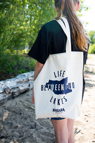 Life Between Two Lakes Tote