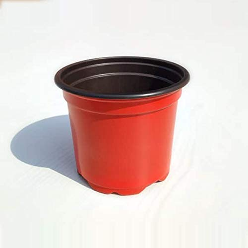 7.2 inch (18 cm) Round, Terracotta Color - Thermoform Pots (set of 20)