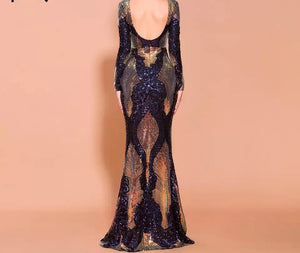 Glory Sequin Gown