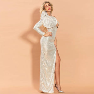 J'adore Glamour Dress(Gold)