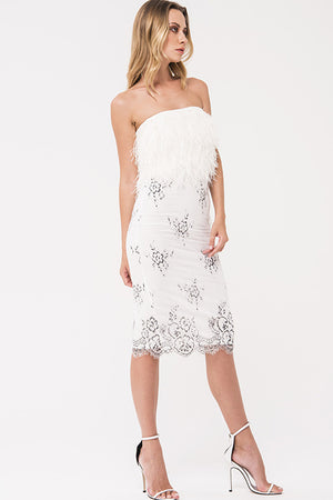 Kelsie Feather Dress