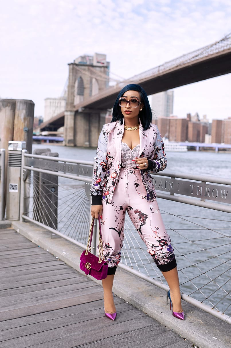 Kara Jogger Pants Suit (Jacket)