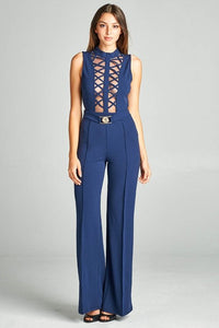 Navy Girl Jumpsuit