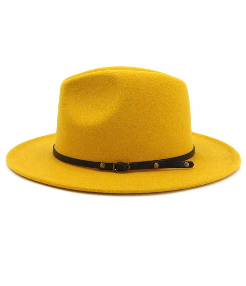A Little Sunshine Fedora Hat