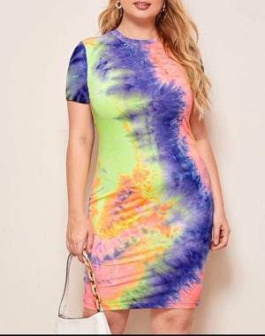 Shasha Tie Dye Dress