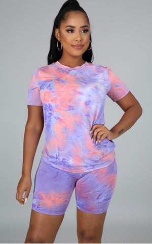 Summer Splash Tie Dye Set
