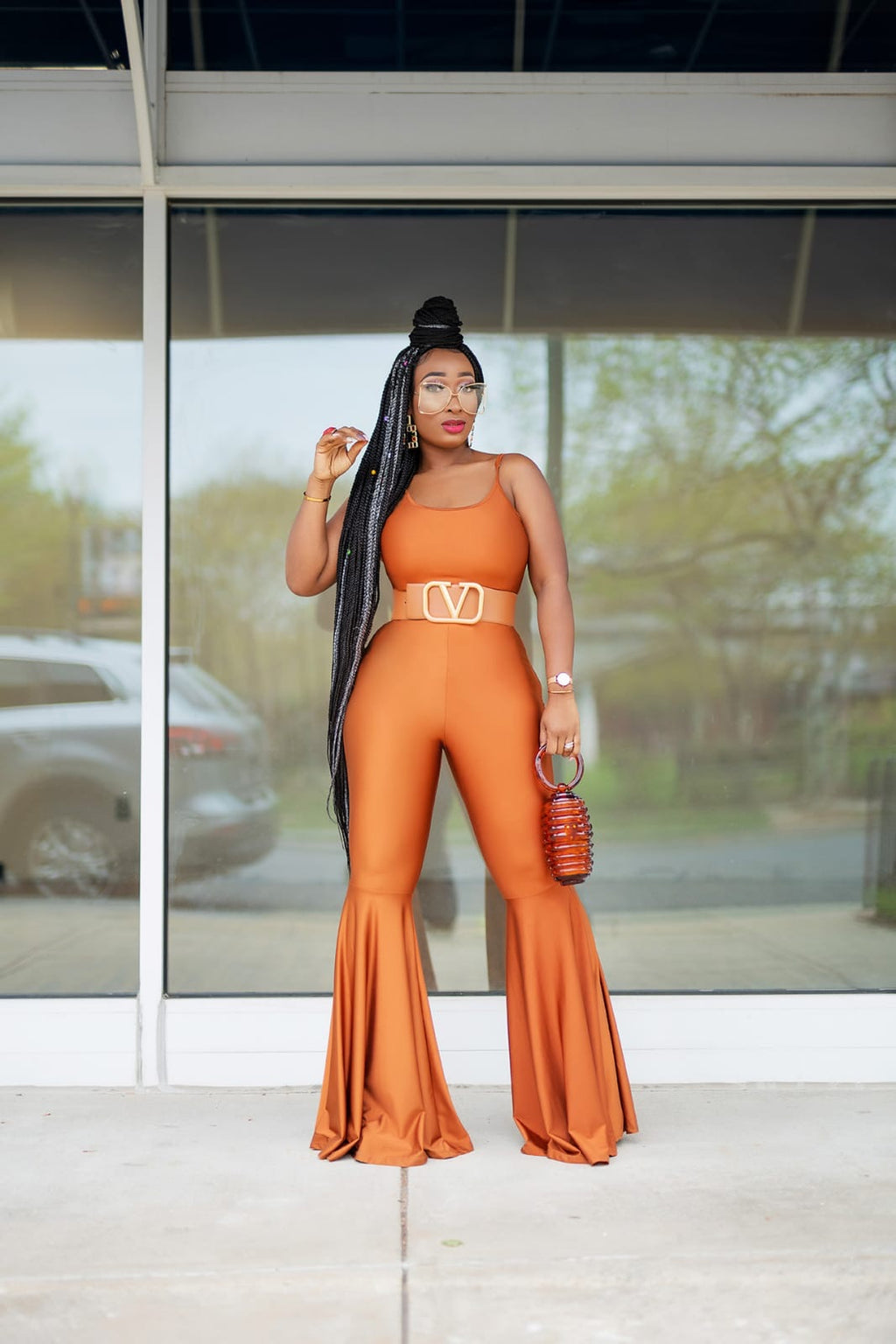 Foxy Flair Jumpsuit