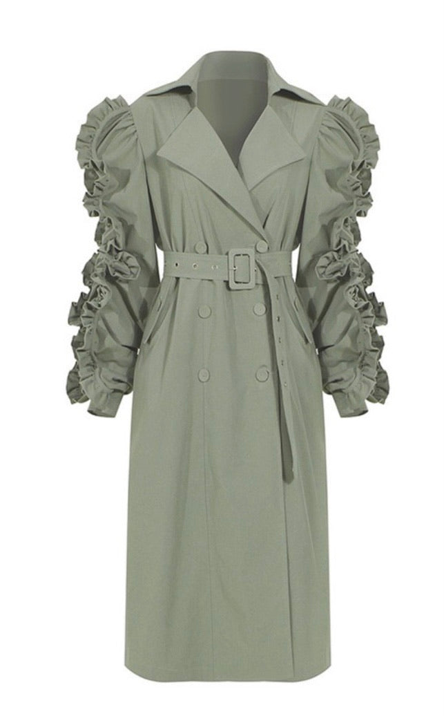 Goddess Trench Coat