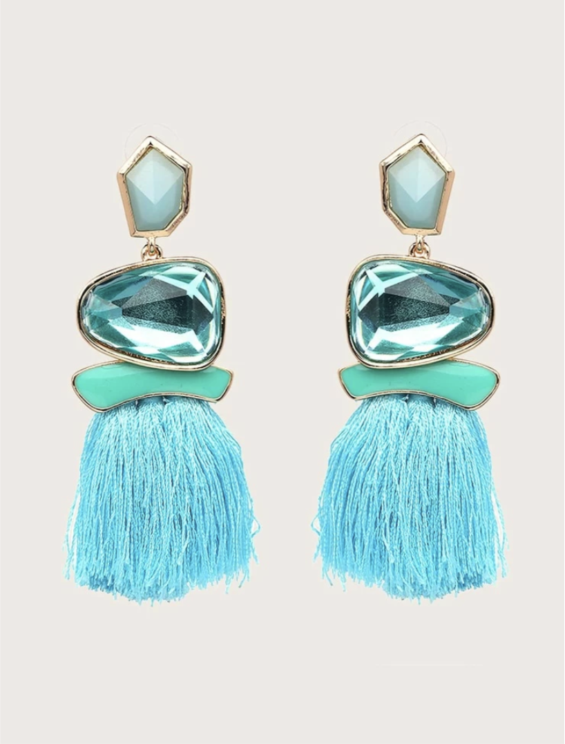 Island Spice Tassel Earrings