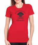 Pirate Put Down Your Booty And Ride Shirts - Red - Ladies