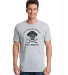 Pirate Put Down Your Booty And Ride Shirts - Heather Grey - Men's