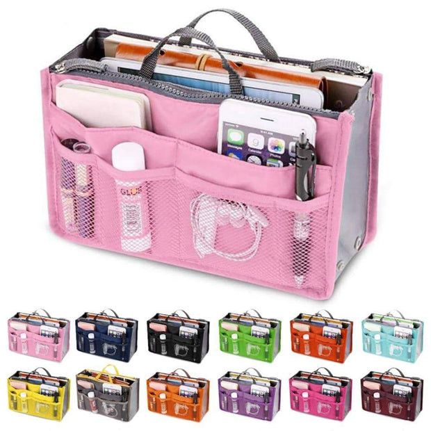 Multi-Pocket Handbag Organizer