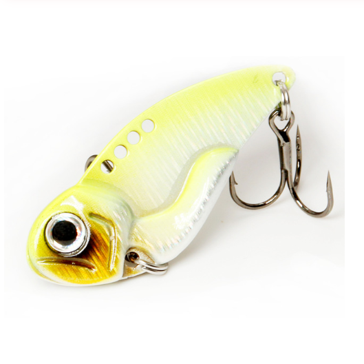 Colorful Metal Lure Baits with Blood Trough Hook