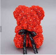 Luxury Diamond Rose Bear