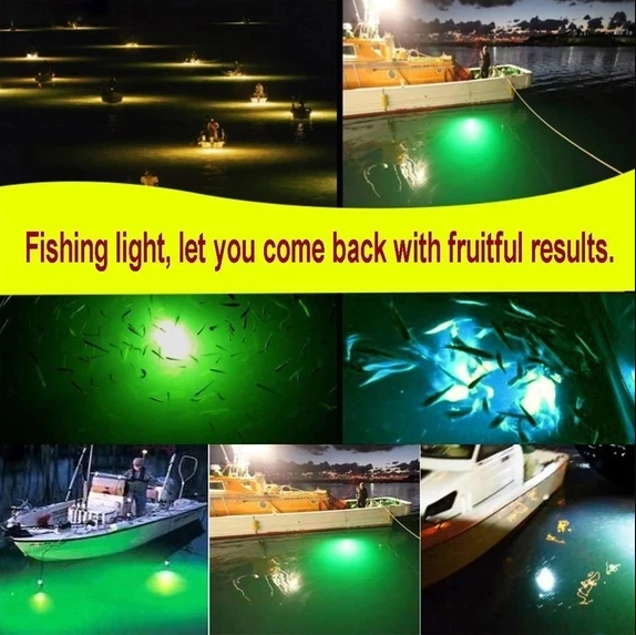 Deep Drop Fishing Light - attracts fish in the dark