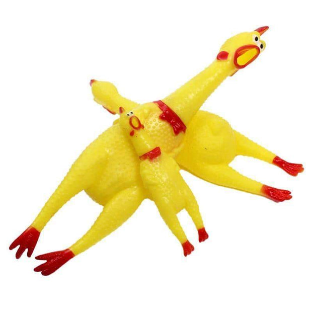 Screaming Chicken Gag Toy