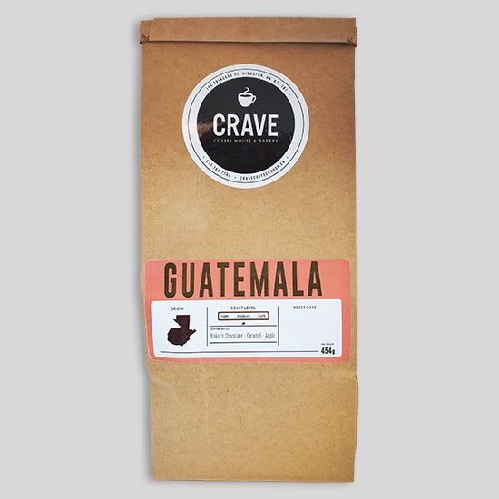 Crave Coffee - Guatemala (Whole Bean)