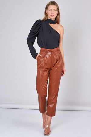 Juliana Leather Pant