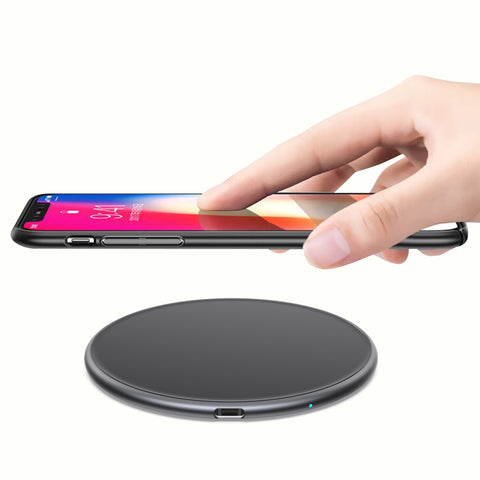 Charging Dock Stations Fast Wireless Charging Pad 15W - Slim Qi Wireless Phone Charger Pad - Compatible with Apple iPhone SE 2020/11/11 Pro Max/XR/XS, Samsung Galaxy S20/Note 10/S10, AirPods Pro